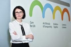 Aurelia Luca a fost numită managing director al Skanska Property România