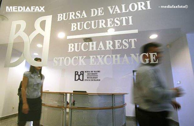 Bursa de la Bucureşti deschide în scădere, în ton cu pieţele internaţionale