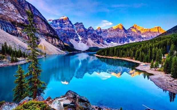 Lacul Louise, unul dintre cele mai frumoase locuri din lume - GALERIE FOTO