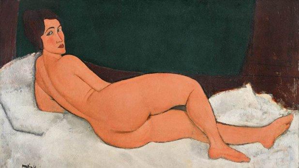 Licitaţie record: Sotheby`s a vândut faimosul nud realizat de Modigliani pentru 157 de milioane de dolari. Prima dată când controversata operă a fost expusă, poliţia a fost nevoită să închid
