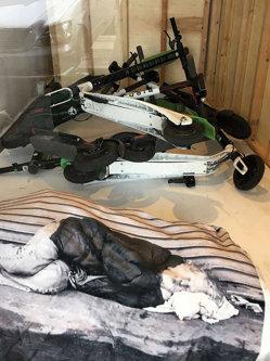 Galeria cu scutere