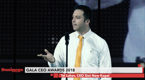 Tal Lahav, CEO Sixt New Kopel - premiat la GALA CEO AWARD 2018 - VIDEO