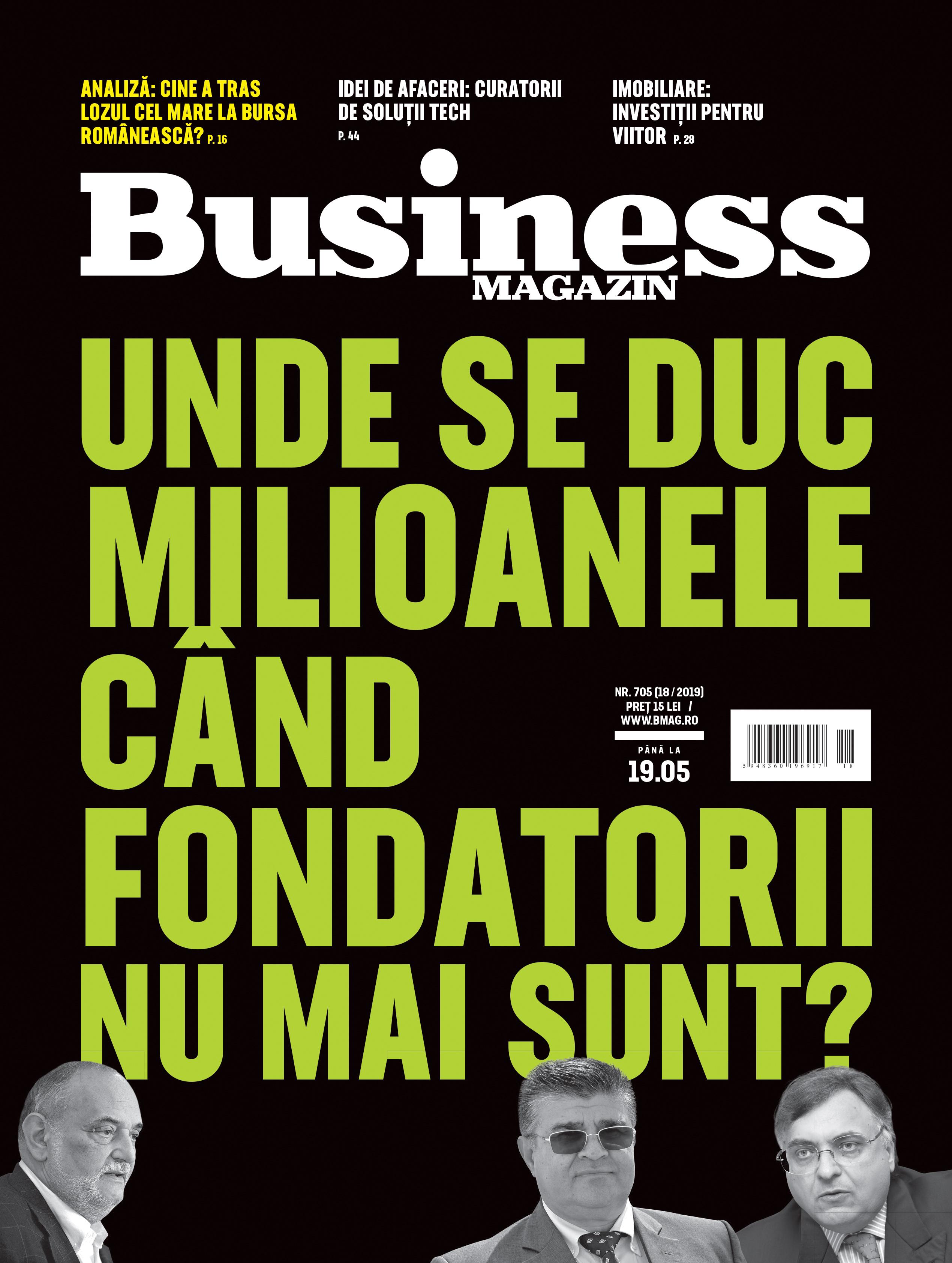 Citeşte în noul număr Business Magazin din 13 mai 2019- VIDEO
