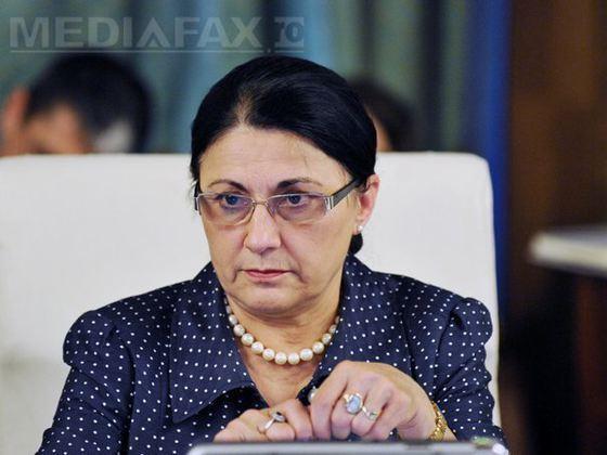 """Ecaterina Andronescu: """"Nu am auzit să se închidă lumina într-o şcoală pentru că nu şi-a plătit curentul"""""""