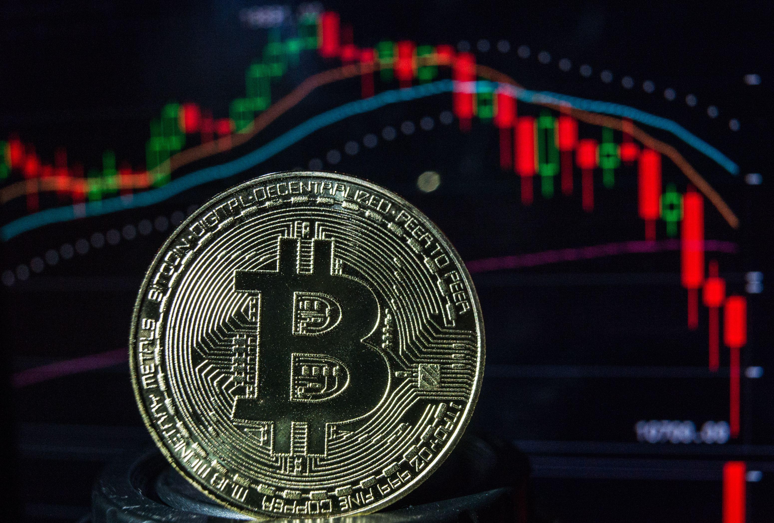 Bitcoin-ul scade sub pragul de 30.000 de dolari pentru a doua oară în ultima săptămână