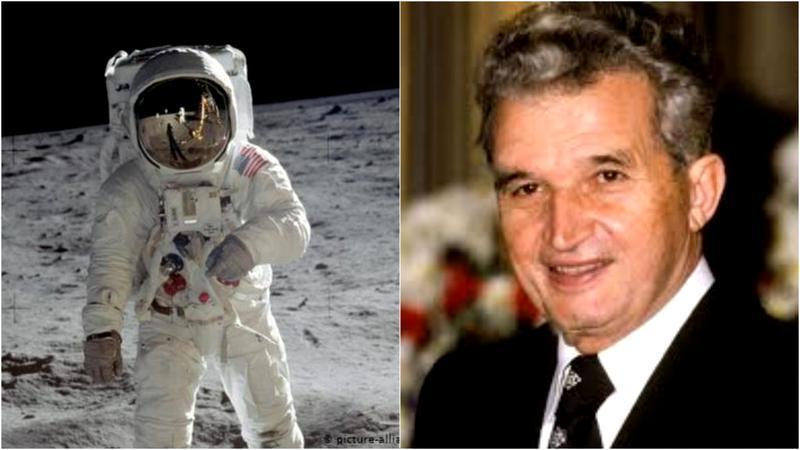 ISTORIE. Un mesaj de la Nicolae Ceauşescu a fost lăsat de oameni pe lună. Ce spune dictatorul în(...)
