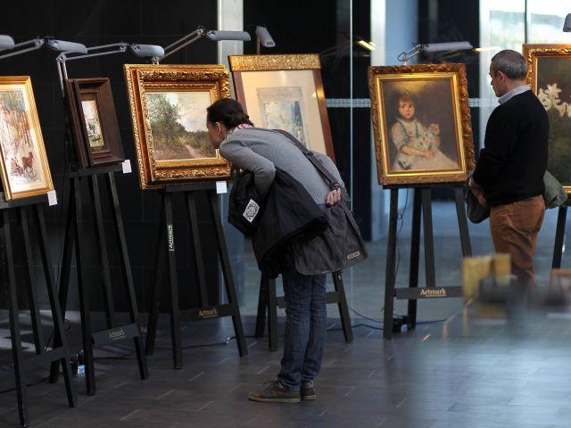 Tablourile lui Nicolae Grigorescu vor fi expuse la aeroportul Otopeni