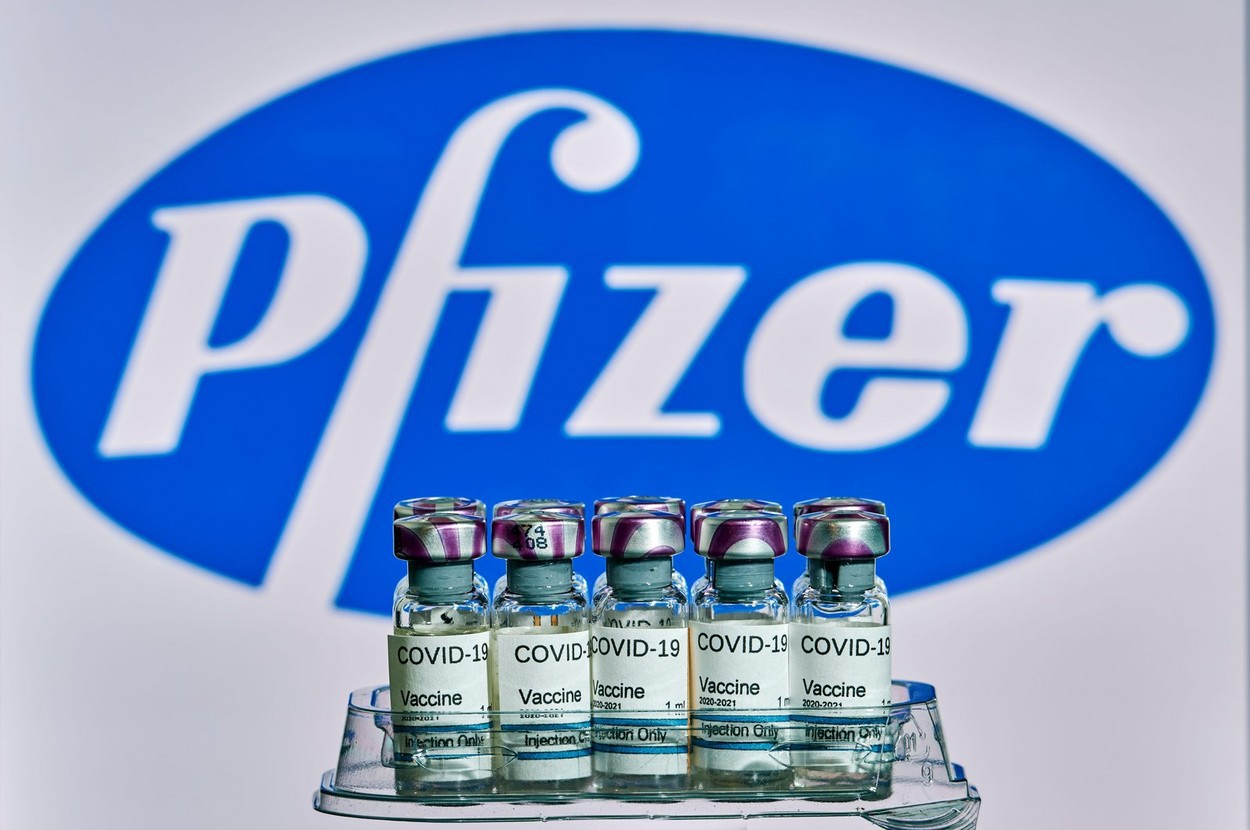 """Pfizer:Vaccinul, sigur la copiii cu vârste între 5 şi 11 ani. Generează un răspuns imun """"robust"""""""