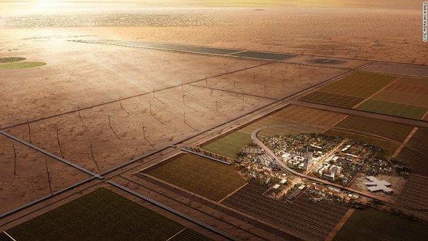 Oraşul ce va fi construit cu 1 miliard de dolari, dar în care nu va locui nimeni