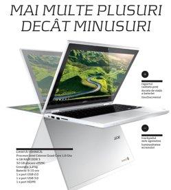 Gadget review Acer Chromebook R11: Mai multe plusuri decât minusuri