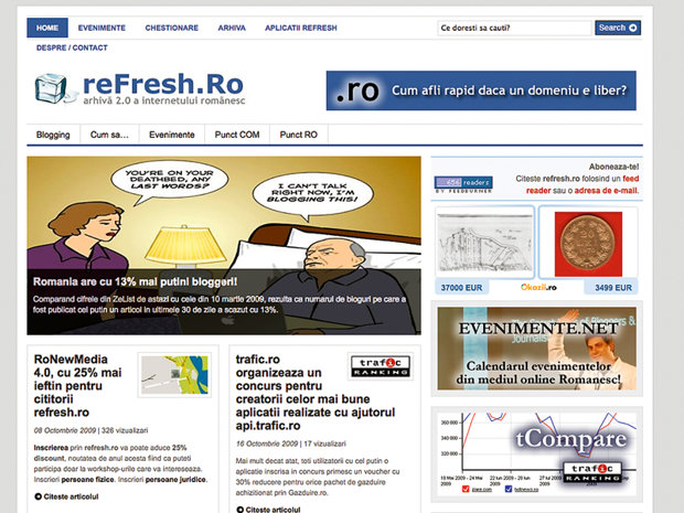 O arhiva a internetului romanesc