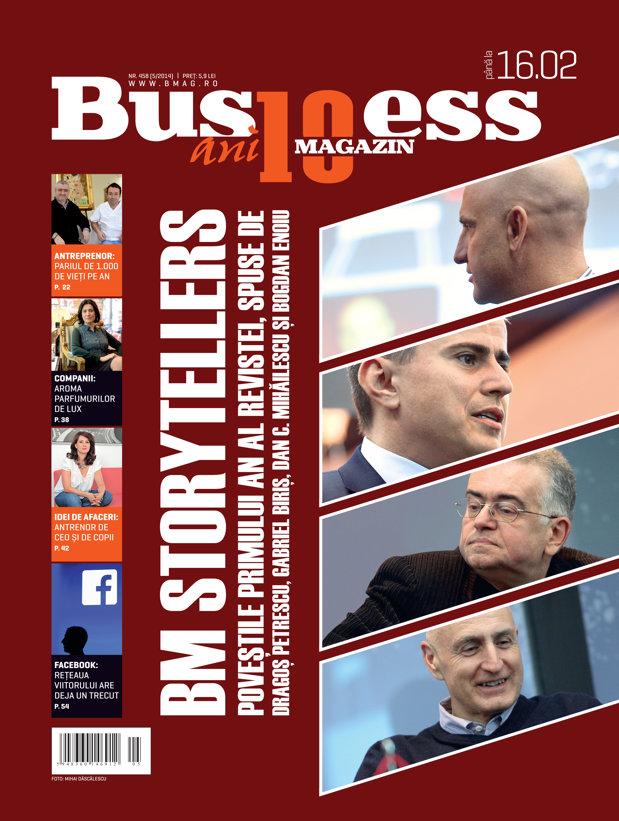 Citeşte în noul număr Business Magazin din 10 februarie 2014
