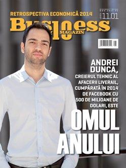 Business Magazin vă prezintă OMUL ANULUI 2014. Povestea lui, în numărul special din 22 decembrie