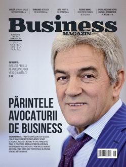 Citeşte în noul număr Business Magazin din 12 decembrie 2016