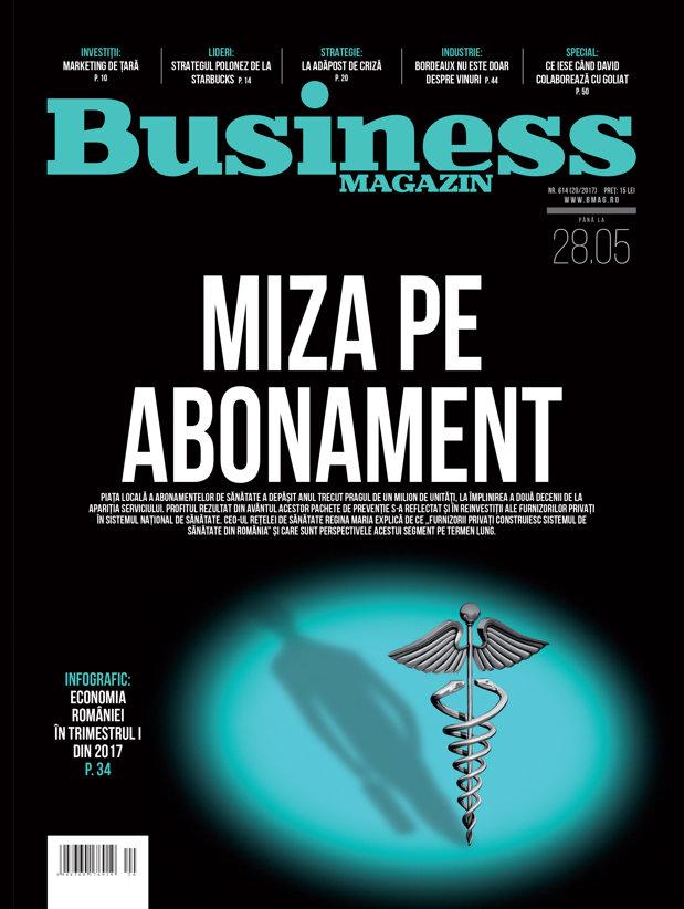 Citeşte în noul număr Business Magazin din 22 mai 2017