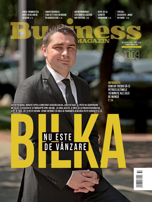 Citeşte în noul număr Business Magazin din 4 septembrie 2017