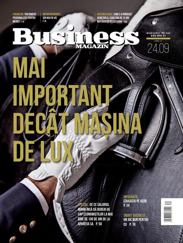 Citeşte în noul număr Business Magazin din 18 septembrie 2017