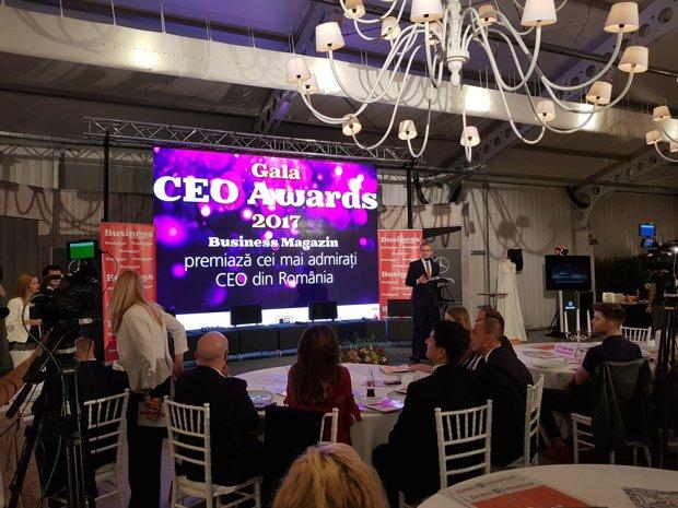 Business Magazin a premiat cei mai admiraţi CEO din România în 2017 - GALERIE FOTO
