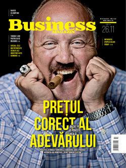 Citeşte în noul număr Business Magazin din 20 noiembrie 2017