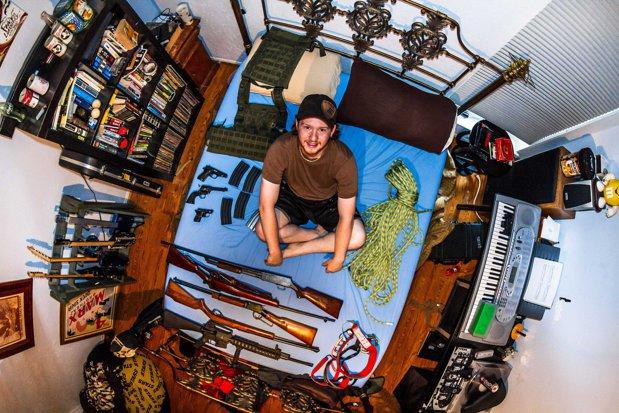 Cum arată camerele tinerilor de pe tot globul - GALERIE FOTO