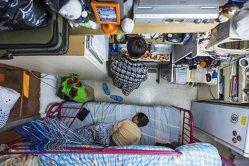 Cum arată viaţa în cele mai mici apartamente din lume - GALERIE FOTO ŞI VIDEO