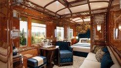 Acesta este cel mai luxos tren din lume. Biletele costă între 7.000 şi 20.000 de dolari - GALERIE FOTO