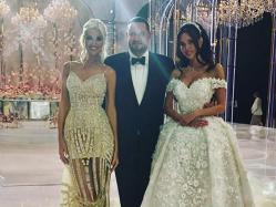 Cum arată nunta extravagantă dintre un oligarh rus şi un model de 27 de ani: un diamand de 70 de carate, un tort uriaş şi două rochii de mireasă - GALERIE FOTO