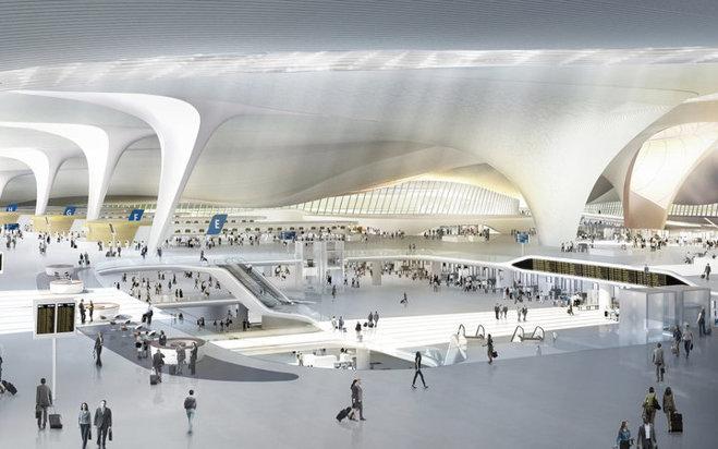 Cum arată CEL MAI MARE aeroport din lume şi când se va deschide - GALERIE FOTO