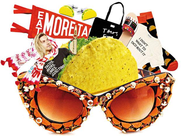 Mâncarea, în lumea modei: bluze cu spaghete sau fuste cu sushi