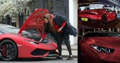 Ce a făcut o moldoveancă cu un Lamborghini Huracan de 200.000 de euro. Toţi se opresc să-i facă fotografii - GALERIE FOTO