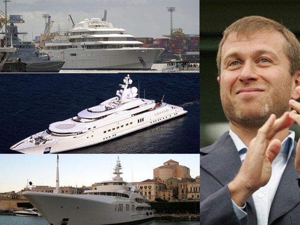 Abramovici conduce topul proprietarilor celor mai scumpe iahturi din lume