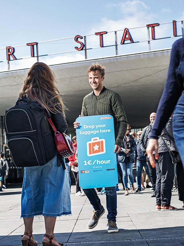 A apărut Airbnb-ul bagajelor