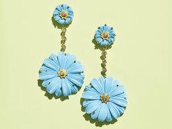 Purcei cu flori şi norişori
