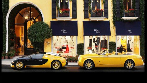 Doi români sunt clienţii celui mai scump magazin din lume. Numele lor este inscripţionat pe vitrină - GALERIE FOTO