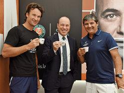 Pe un altfel de podium la Roland-Garros