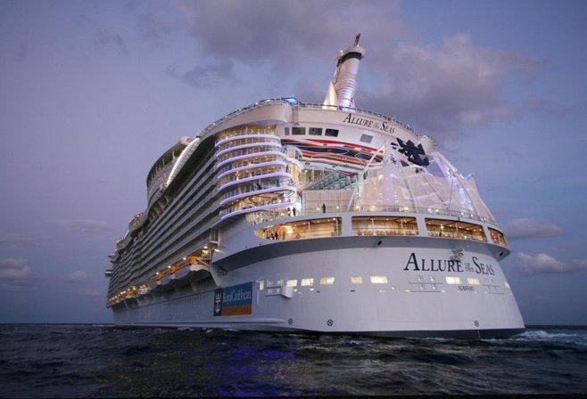 În culisele celui mai mare vas de croazieră din lume - GALERIE FOTO