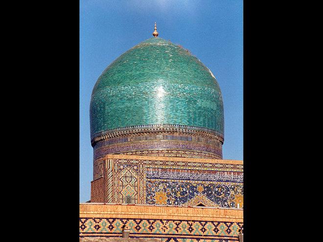 """""""Registanul""""(zonă nisipoasă ) din Samarkand aflat în sud-vestul Tachkent-ului,Uzbekistan"""