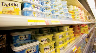 Margarina se zbate sa ia fata untului