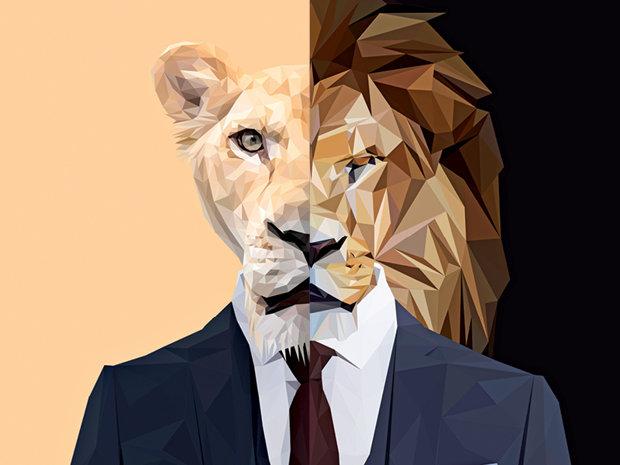 Leoaica feministă şi leul alfa