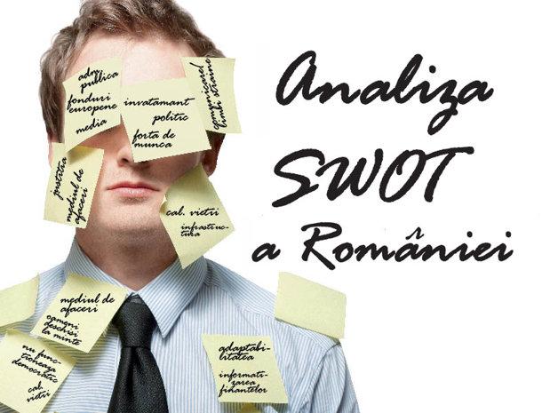 Analiza SWOT a Romaniei. Esti de acord?
