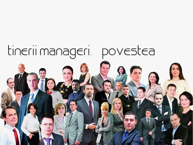 Tinerii manageri. Povestile de succes ale celor care pot relansa economia