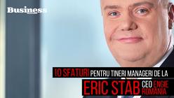 10 sfaturi pentru tineri manageri de la Eric Stab, CEO Engie - VIDEO