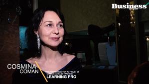 """Cosmina Coman: """"Curiozitatea şi învăţarea continuă vor rămâne factorii importanţi de succes pentru tineri"""" - VIDEO"""