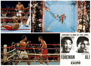 "GALERIE FOTO | 40 de ani de la ""The Rumble in the Jungle"", cel mai mare meci din istoria boxului"