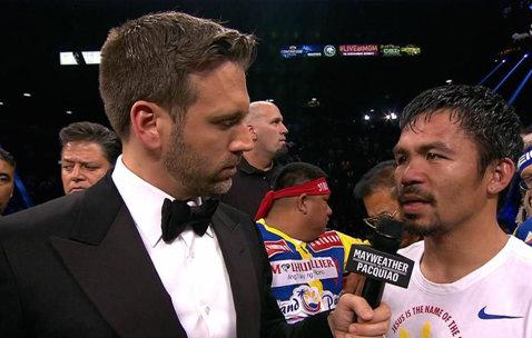 """Manny Pacquiao, intrigat la finalul meciului: """"Am crezut că am câştigat"""""""