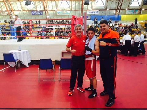 Jitaru a pierdut semifinala cu Di Serio şi rămâne cu medalia de bronz la CE de box pentru tineret