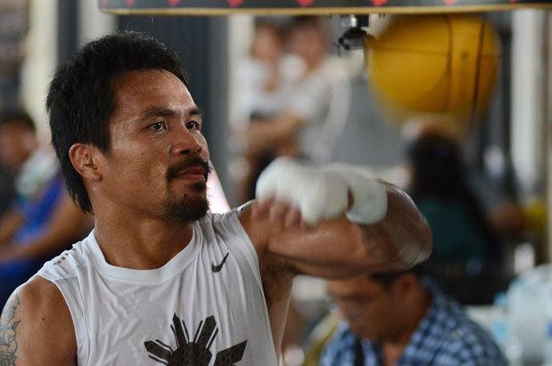 """Meciul lui Pacquiao cu Bradley, """"avantaj electoral"""" pentru boxerul asiatic"""