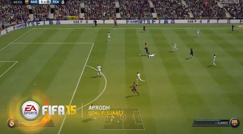 VIDEO | Cele mai spectaculoase goluri ale săptămânii în FIFA 15. Duel din altă lume Luis Suarez - Cristiano Ronaldo