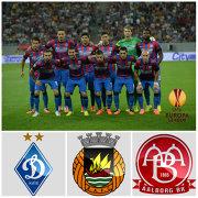Prezentarea adversarelor Stelei din grupele Europa League. Cine sunt Dinamo Kiev, Rio Ave şi Aalborg