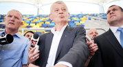 """Oprescu, fericit că Bucureştiul va găzdui meciuri de la Euro 2020. Primarul promite noi facilităţi şi arene moderne: """"Lucrăm la noua sală polivalentă, la patinoar şi la academia de tenis"""""""